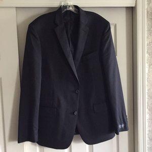 Men's navy sport coat